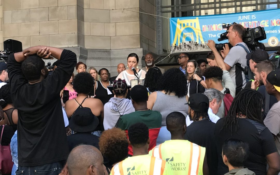 CONTROLLER CHELSA WAGNER STATEMENT ON CITY OF PITTSBURGH ACTIONS AGAINST PROTESTOR